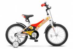 Велосипед Stels Jet 16 Z010 (2019) голубой/зеленый Один размер