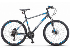 Велосипед Stels Navigator 590 D 26 K010 (2020) серый/синий 20