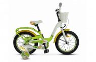 Детский велосипед Stels Pilot 190 16 V030 (2018) зеленый Один размер