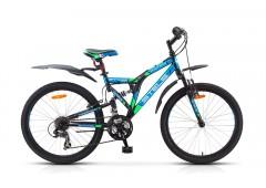 Двухподвесный велосипед Stels Mustang V 24 (2015)