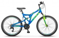 Двухподвесный велосипед Stels Mustang V 24 (V020)