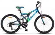 Двухподвесный велосипед Stels Mustang V 24